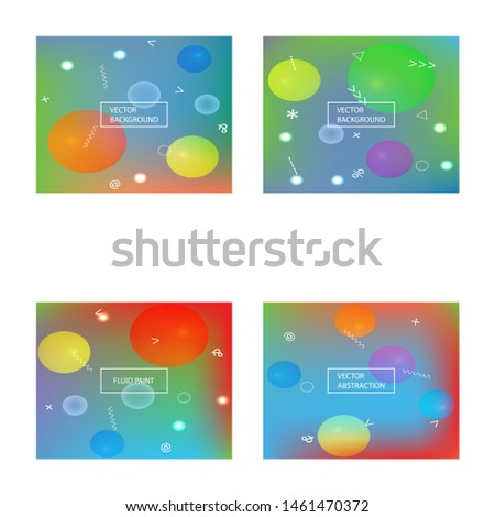 Abstract soft color background. Simple backdrop with simple muffled colors. Vector illustration concept. Blue modern screen effective design for user interface.