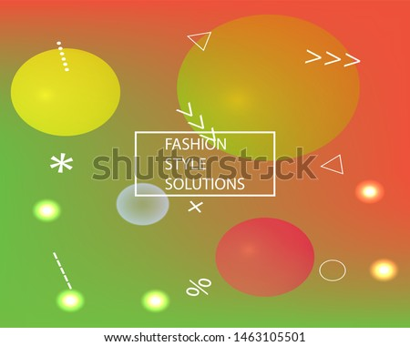 Abstract soft color background. Simple backdrop with simple muffled colors. Vector illustration vintage. Red modern screen effective design for user interface.