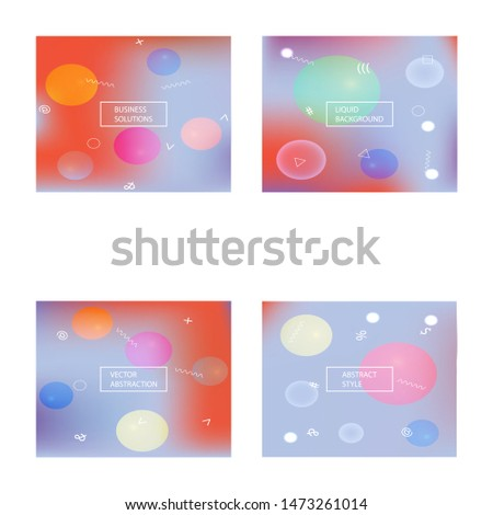 Abstract soft color background. Vector illustration concept. Simple backdrop with simple muffled colors. Orange modern screen effective design for user interface.