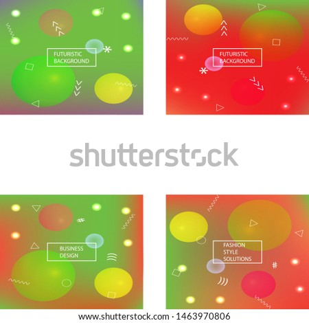 Abstract soft color background. Vector illustration vintage. Simple backdrop with simple muffled colors. Green modern screen effective design for user interface.