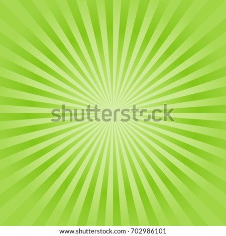 abstract soft green rays
