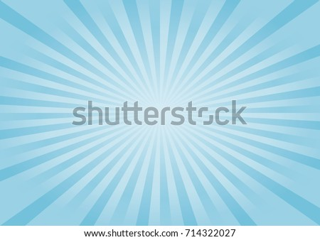 Abstract soft light Blue rays background. Vector EPS 10, cmyk