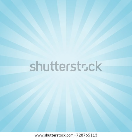 abstract soft light blue rays