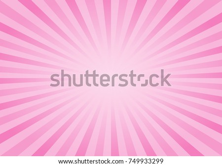 abstract soft pink rays