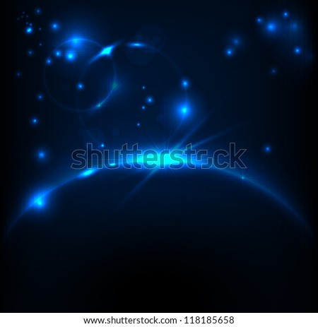 abstract space background for