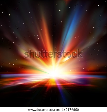 abstract space background with