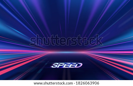abstract speed lights motion