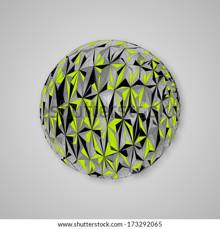 Abstract Sphere | EPS10 Vector