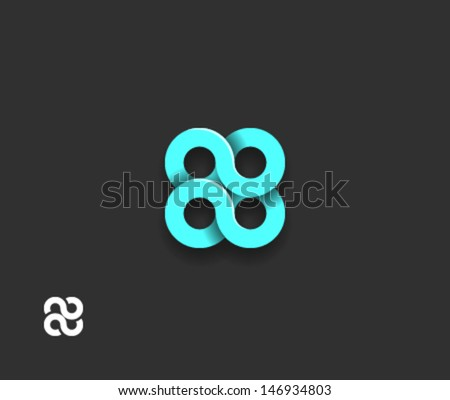 abstract spiral element
