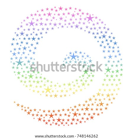 abstract spiral pattern of
