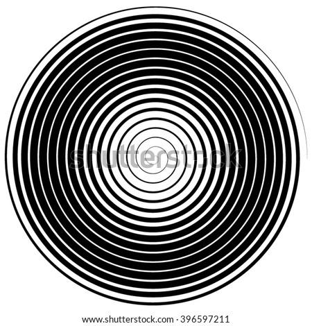abstract spiral  vector
