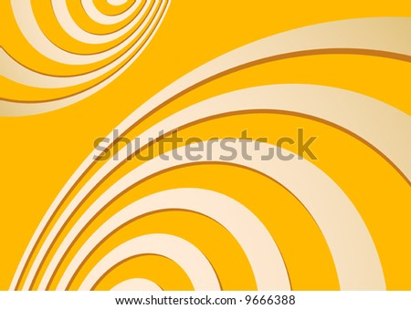 Abstract spirals background vector illustration.