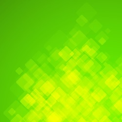 Abstract square green background. Vector Illustration. Clip-art