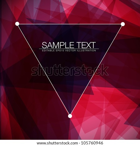 Abstract square vector background for Your Text