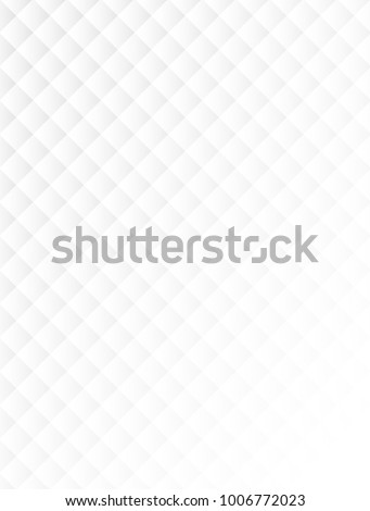 abstract square white