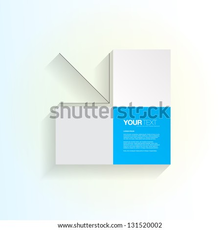 abstract squares design vector