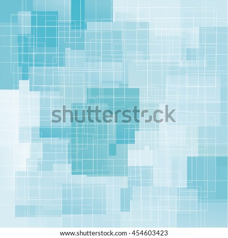 Abstract squares vector background.