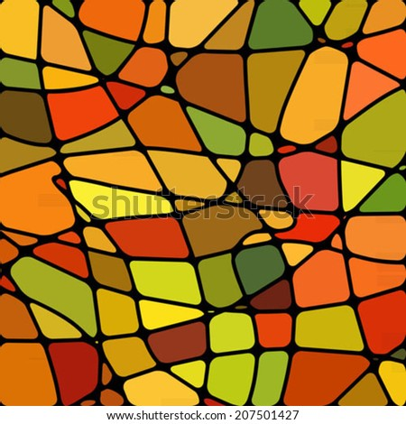 abstract stained-glass mosaic background #207501427