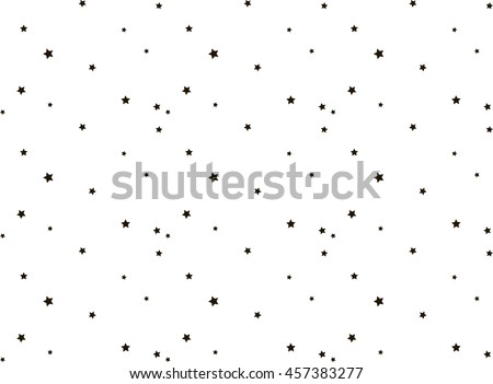 Great Abstract Stars Vector Background. Stars Pattern.