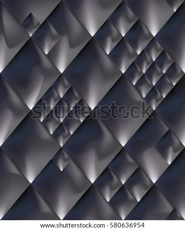 abstract steel dark gray space