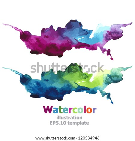 Abstract stripe paint : illustration EPS.10 vector