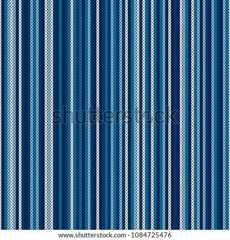 abstract striped knitted