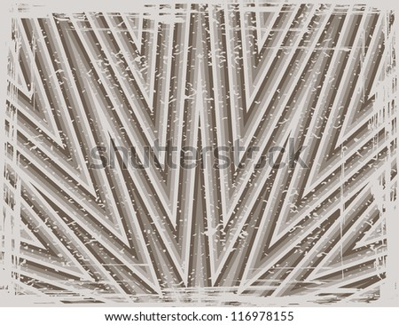 Abstract striped pattern background, vector illustration. Grunge effect can be cleaned easily.