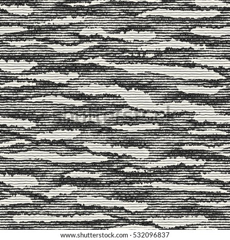 Abstract striped stains distressed background. Seamless pattern.