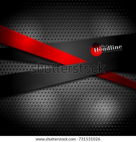 abstract stripes on dark