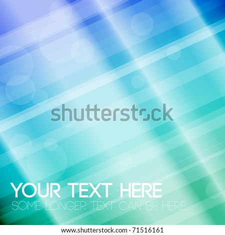 Abstract stripped background - blue and green
