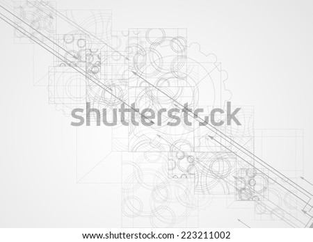 abstract structure circuit