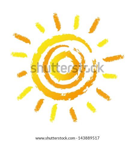Abstract sun