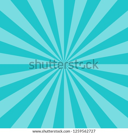 Abstract sunburst or sunbeams blank background. Empty retro vintage backdrop in square format.