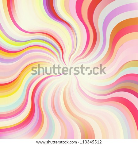 Abstract sunburst vector background