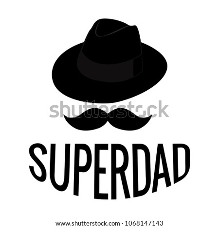 Abstract Super Dad