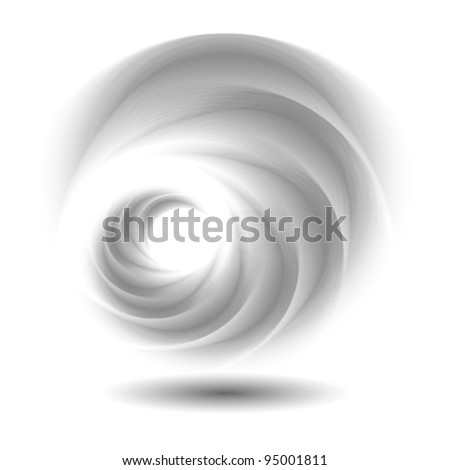 abstract swirl logo, icon (ideal for technology, innovation etc. concepts)
