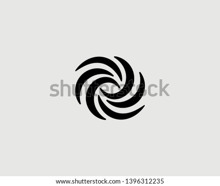 abstract swirl science icon