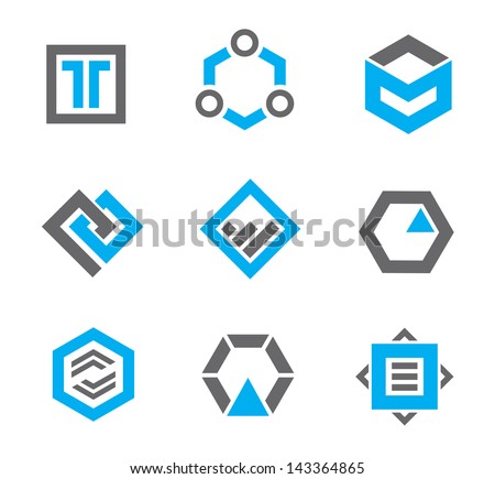 Stock Photo Abstract symbols and icons