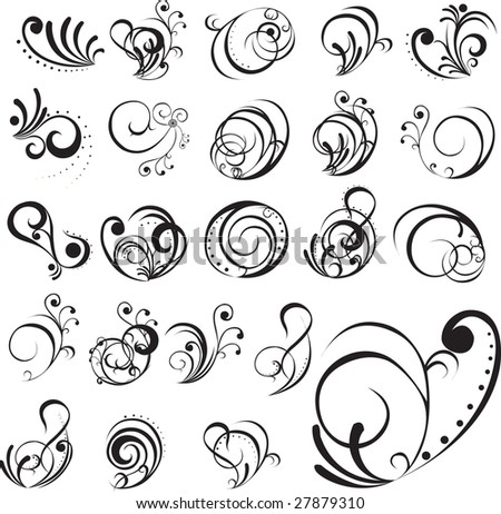 Abstract tattoo - stock vector