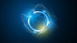 abstract tech futuristic innovative concept background eps 10 vector