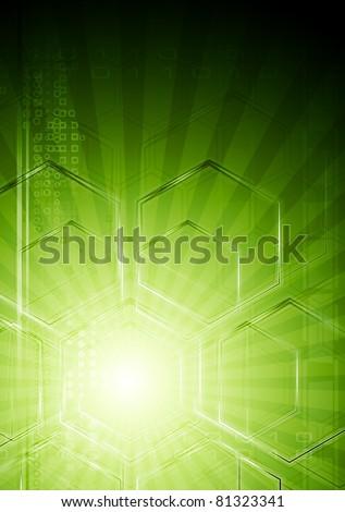 Abstract technical design. Vector eps 10