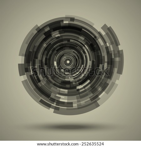 abstract techno background as