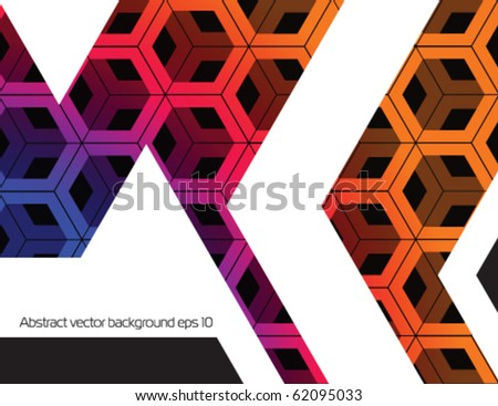 Abstract techno background.Stock vector.