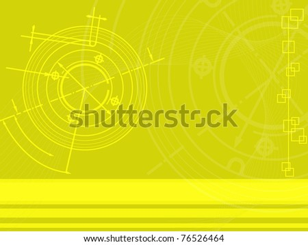 abstract techno background. vector