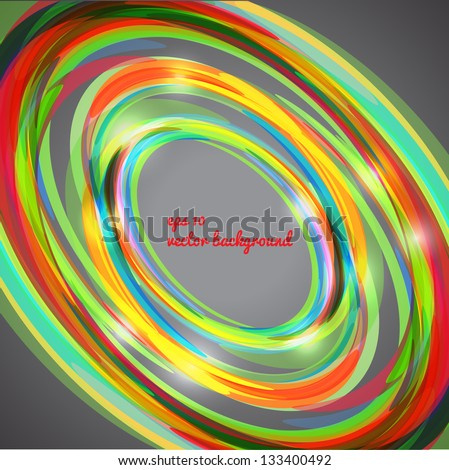 Abstract techno circle background. Can be used for tech-design, as background for business presentation, web and postcards.