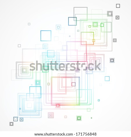 Abstract technological background #171756848
