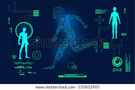 abstract technological health