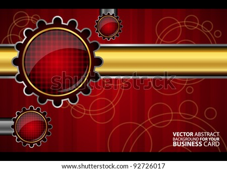 Abstract technology background for your business card