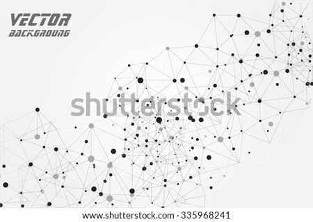 Abstract  technology background.Geometric vector background.