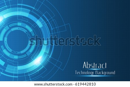 Abstract technology background innovation vector design